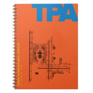 Tampa Airport (TPA) Diagram Notebook