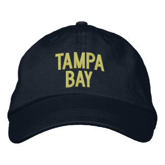 Tampa Bay, Florida Personalized Adjustable Hat Embroidered Baseball Cap