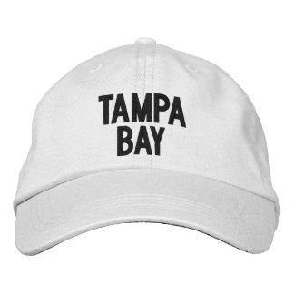 Tampa Bay, Florida Personalized Adjustable Hat Embroidered Hat