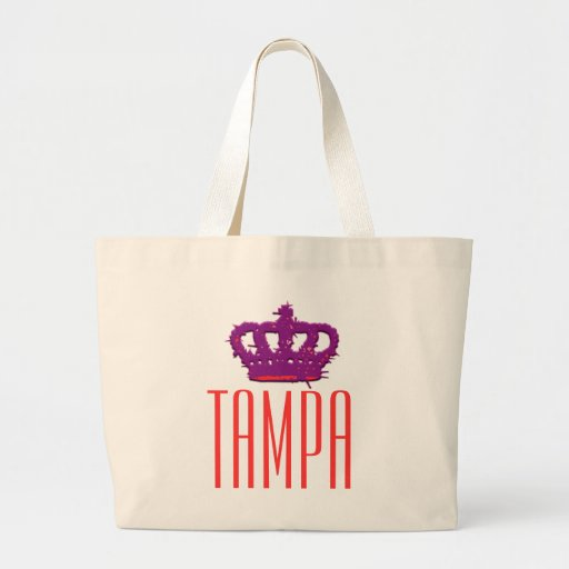 Tampa Crown Jumbo Tote Tote Bags