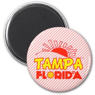 Tampa, Florida 6 Cm Round Magnet
