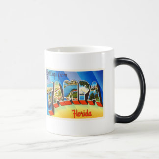 Tampa Florida FL Old Vintage Travel Souvenir Magic Mug