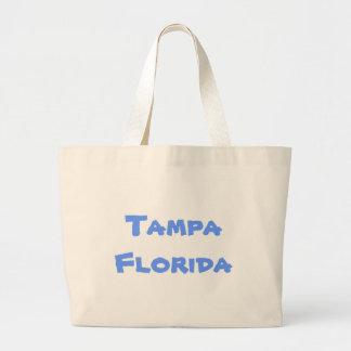 Tampa Florida Jumbo Tote Tote Bag