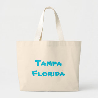 Tampa Florida Jumbo Tote Jumbo Tote Bag