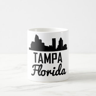 Tampa Florida Skyline Coffee Mug