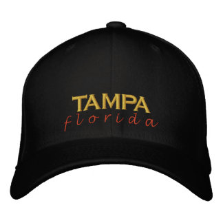 TAMPA florida sunset Embroidered Hats