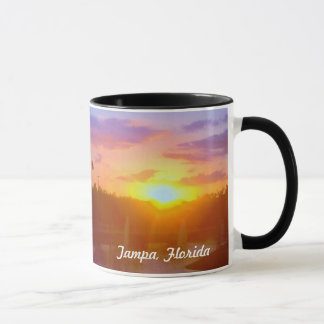 Tampa Florida Sunset mug
