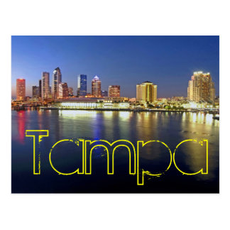Tampa, Florida, U.S.A. Postcard