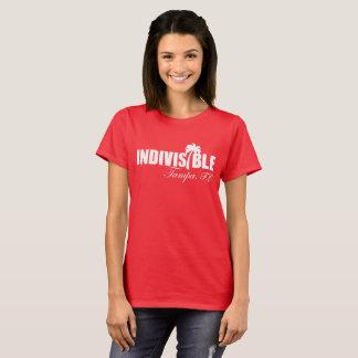 TAMPA Indivisible Womens Tshirt - Wht logo