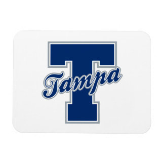 Tampa Letter Rectangular Photo Magnet