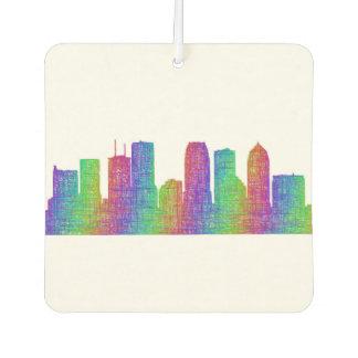 Tampa skyline car air freshener