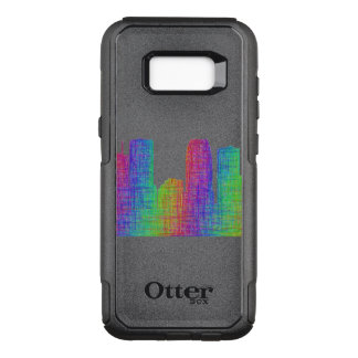Tampa skyline OtterBox commuter samsung galaxy s8+ case