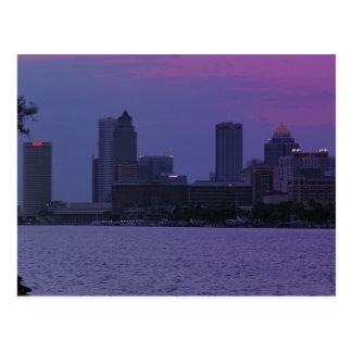 Tampa Skyline Postcard