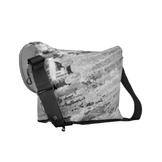 Tampa Water Fountain Messenger Bags