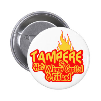 Tampere Hot Wings button