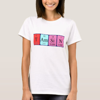 Tamsin periodic table name shirt