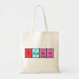 Tamsin periodic table name tote bag