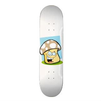 Tan Brown Mushroom Skate Boards