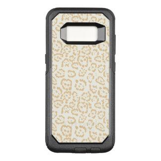 Tan Cheetah Animal Cat OtterBox Commuter Samsung Galaxy S8 Case