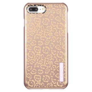 Tan Cheetah Animal Cat Print Incipio DualPro Shine iPhone 8 Plus/7 Plus Case