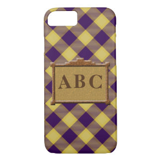 Tan Country Plaid iPhone 8/7 Case