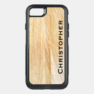 Tan Faux Stone OtterBox Commuter iPhone 7 iPhone 8