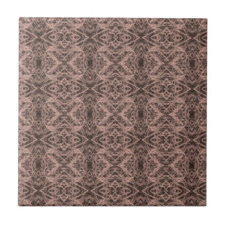 Tan Foxtail Repeat Small Square Tile
