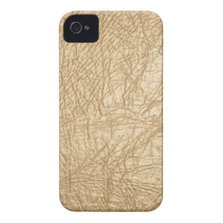 Tan Gold Leather Look iPhone 4/4s iPhone 4 Case-Mate Case