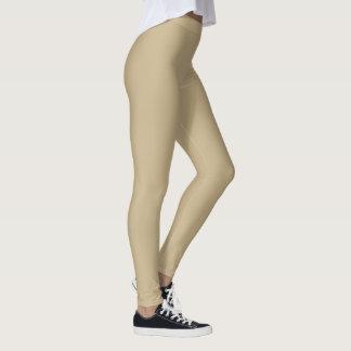 Tan Leggings