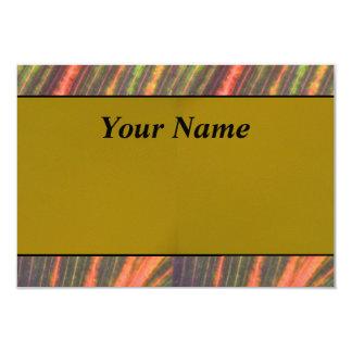 "Tan Orange 3.5"" X 5"" Invitation Card"