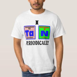Tan periodically. tee shirt