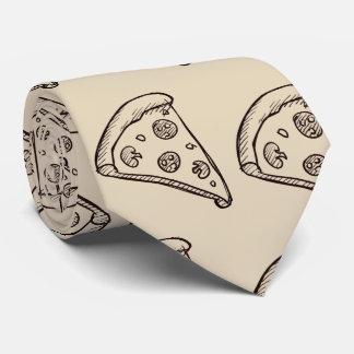 Tan PizzaTie Tie