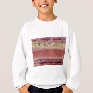 tan red rock lines sweatshirt
