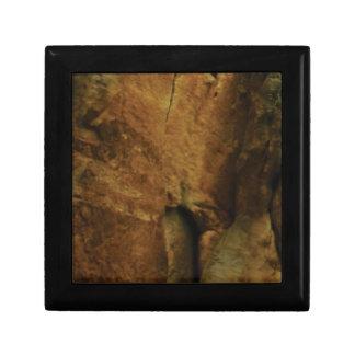 tan rock texture gift box
