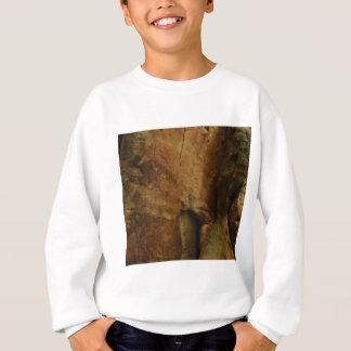 tan rock texture sweatshirt