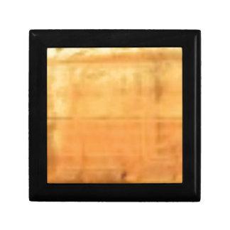 tan smooth texture gift box