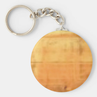 tan smooth texture key ring