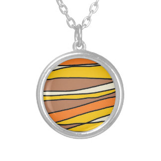 tan streaks.jpg round pendant necklace