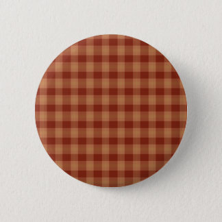 Tan Tartan Button