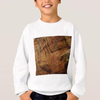 tan vertical sandstone lines sweatshirt
