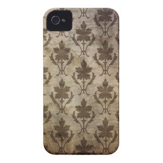 Tan Vintage Print BlackBerry Bold Case Case-Mate iPhone 4 Case