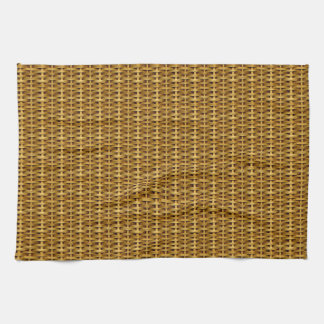 Tan Wicker American MoJo Kitchen Towel