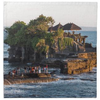 Tanah-Lot Bali Indonesia Napkin