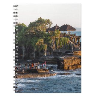 Tanah-Lot Bali Indonesia Notebook