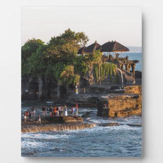 Tanah-Lot Bali Indonesia Plaque