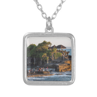 Tanah-Lot Bali Indonesia Silver Plated Necklace