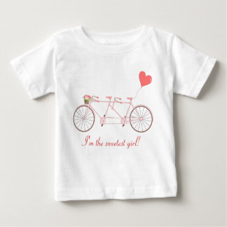 Tandem bicycle baby T-Shirt