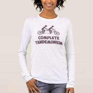 Tandem Bike Complete Tandemonium Long Sleeve T-Shirt