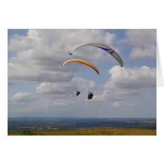 Tandem Gliding Card