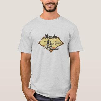 Tandem Surfing Hawaiian Retro T-Shirt